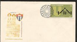 L) 1972 CUBA, XX OLYMPIC GAMES, MUNICH, SPORT, ARCHITECTURE, THE FRAUENKIRCHE THE SYMBOL OF MUNICH, FDC - FDC