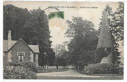 GRUCHET LE VALASSE - Entrée Du Château - France