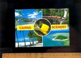 CAIRNS Australia Kuranda Train At Stoney Greek Falls / Marlin Jetty / Green Island - Cairns