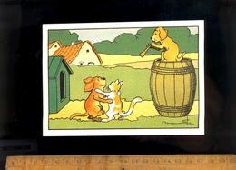 Illustration Benjamin RABIER Danse De Chiens Et Chat / édition Nouvelles Images 1993 - Rabier, B.