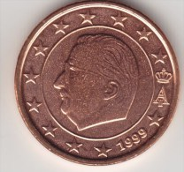 @Y@     Belgie  1 Cent 1999 Grote  Ster    UNC - België