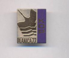 SKI JUMPING SLOVENIA PLANICA 1977. KOP  BADGE - Winter Sports