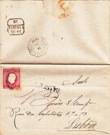 Portugal  -Lisboa Aljustrel 14 -11-1878 - Marcofilia