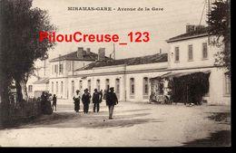 "13 Bouches Du Rhône - MIRAMAS GARE - "" Avenue De La Gare - Animation "" - Autres Communes"
