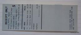 Royal Caribbean, Shore Excursion Payment Receipt For Sceninc Boat Transfer (Ship: Legend Of The Seas). - Bateaux