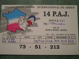 INTERNATIONAL DX GROUP - 14 P.A.J. - Radio