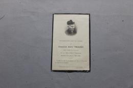 Carte Souvenir Du Chamoine De Daoulas Alain Troadec 1929 - Obituary Notices