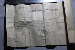 Certificat D'étude Primaire 1912 Guyane - Diplomi E Pagelle