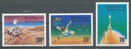 Haute-Volta YT N°388/390 Opération Viking Sur Mars Neuf ** - Haute-Volta (1958-1984)