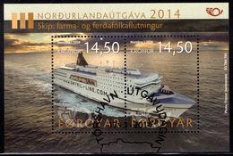 Faroe Islands 2014 Life At The Coast Souvenir Sheet Fine Used. - Faroe Islands