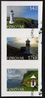 Faroe Islands 2014 Lighthouses Self-adhesive Fine Used. - Faroe Islands