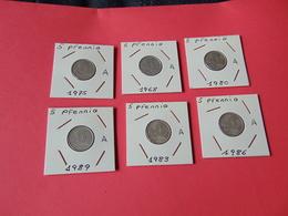 5 Pfennig Alemania Democratica - 5 Pfennig