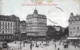 BRUXELLES - Coin Du Boulevard Du Nord Et De La Place Rogier - Lanen, Boulevards
