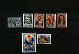 Greece / Griechenland 1959 Michel 714-720 Postfrisch / MNH - Greece