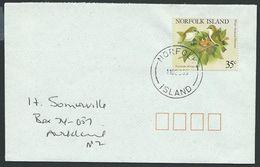 NORFOLK IS 1995 Cover To New Zealand - 45c Birds...........................42536 - Norfolk Island