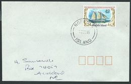 NORFOLK IS 1995 Cover To New Zealand - 45c Resolution......................42817 - Norfolk Island