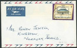 NORFOLK IS 1975 1c Local Rate Cover........................................41237 - Norfolk Island