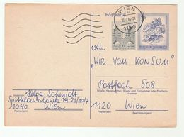 3s-50g UPRATED POSTAL STATIONERY CARD Austria Stamps Cover - Stamped Stationery