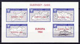 GUERNSEY - SARK (Emission Locale) - 1964 EUROPA BLOC ** - Emisiones Locales