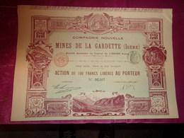 MINES DE LA GARDETTE (isère) Imprimerie RICHARD - Shareholdings