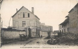 SCHAERBEEK HELMET PENSIONNAT DE LA SAINTE-FAMILLE BELGIQUE BRUXELLES - Schaarbeek - Schaerbeek
