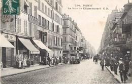 PARIS LA RUE DE CLIGANCOURT OMNIBUS 75018 - Distretto: 18