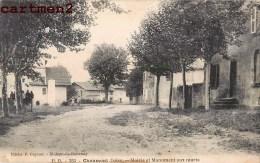 CHAUMONT ISERE MAIRIE ET MONUMENT AUX MORTS 38 - Francia
