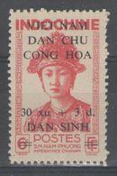 "VIETNAM:  N°37 NSG, Variété ""point Au Lieu De Trait"" (entre VIET-NAM) - Vietnam"