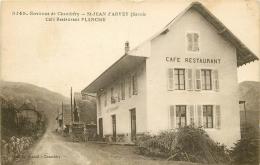 73 SAINT JEAN D'ARVEY. Café Restaurant Planche - Chambery