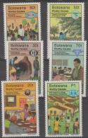 BOTSWANA - 1996 Worthy Causes. Scott 606-611. MNH - Botswana (1966-...)