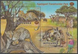 BOTSWANA - 2001 Birds And Animals Souvenir Sheet. Scott 717a. MNH - Botswana (1966-...)