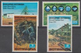 BOTSWANA - 1970 Mining Development. Scott 58-61. MNH - Botswana (1966-...)
