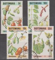 BOTSWANA - 1979 Christmas - Flowers, Berries. Scott 239-242. Used - Botswana (1966-...)