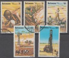BOTSWANA - 1979 Water Development. Scott 225-229. Used - Botswana (1966-...)