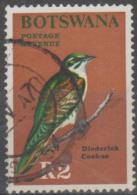 BOTSWANA - 1967 2r Bird. Scott 32. Used - Botswana (1966-...)