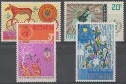 BOTSWANA - 1973 Meteorological Centenary. Scott 96-99. MNH - Botswana (1966-...)