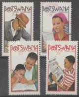 BOTSWANA - 1981 Literacy Campaign. Scott 277-280. Used - Botswana (1966-...)
