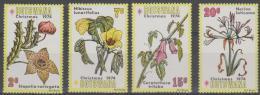 BOTSWANA - 1974 Flowers. Scott 128-131. MNH - Botswana (1966-...)