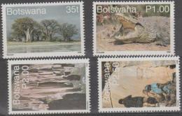 BOTSWANA - 1998 Tourism. Scott 655-658. MNH - Botswana (1966-...)