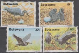 BOTSWANA - 1989 Birds. Scott 456-459. MNH - Botswana (1966-...)