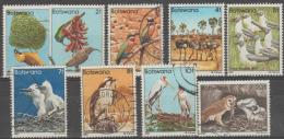 BOTSWANA - Several Used 1982 Birds From Set. Scott Between 303-313 - Botswana (1966-...)