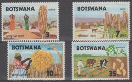 BOTSWANA - 1971 Farming Crops. Scott 71-74. MNH - Botswana (1966-...)