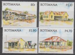 BOTSWANA - 2005 Historic Buildings. Scott 798-801. MNH - Botswana (1966-...)