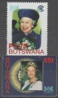 BOTSWANA - 2002 QE II. Scott 739-740. MNH - Botswana (1966-...)
