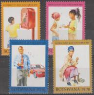 BOTSWANA - 2004 World Post Day. Scott 788-791. MNH - Botswana (1966-...)