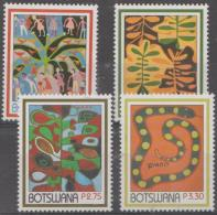 BOTSWANA - 2004 Contemporary Art. Scott 780-783. MNH - Botswana (1966-...)