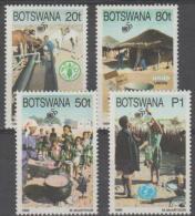 BOTSWANA - 1995 50th Anniversary Of The UN. Scott 582-585. MNH - Botswana (1966-...)