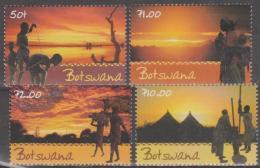 BOTSWANA - 2001 Sky Views. Scott 722-725. MNH - Botswana (1966-...)