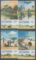 BOTSWANA - 2000 Flying Mission - Planes. Scott 701-704. MNH - Botswana (1966-...)