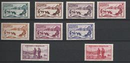 Saint Pierre & Miquelon 167 à 173* , 175*, 177*, 182*,185 à 187* - St.Pierre & Miquelon
